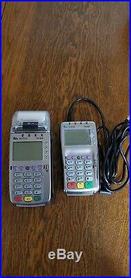 VeriFone Vx520 and Vx805 includes connection cables and power cords