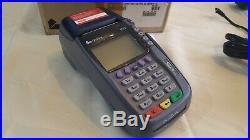 VeriFone Vx570 Omni 5750 DUAL-COM POS Credit Card Terminal with Printer