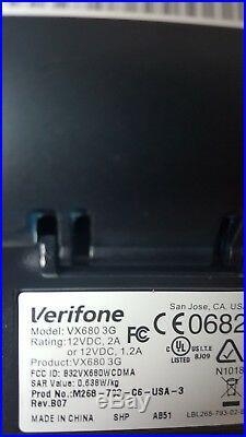 VeriFone Vx680 3G Wireless / EMV / Contactless UNLOCKEDBRAND NEW VX 680