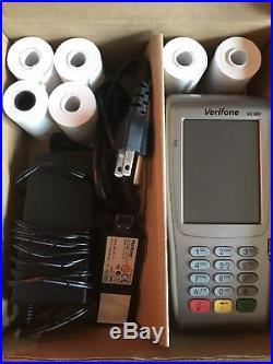 VeriFone Vx680 3G Wireless / EMV / Contactless UNLOCKEDUsed Only 2 Months