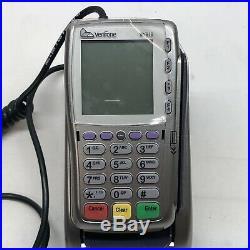 VeriFone Vx810 Duet Credit Card Terminal Printer Base and PIN Pad Chip Reader