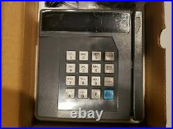 VeriFone ZON 530 Timeclock/Credit Card Terminal New Old Stock. IN BOX