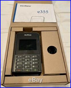 Verifone E355 BT/WIFI Mobile Payment Terminal-M087-351-01-WWA PoS Point Of Sale