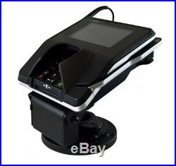 Verifone MX915 MX-915 Credit Card Terminal + Thumb Print Reader 54Y2577 + Stand