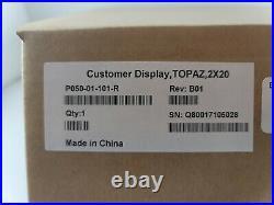 Verifone P050-01-101-R Topaz Customer Display
