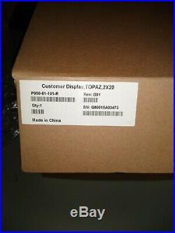 Verifone P050-01-101 Topaz Customer Display