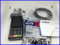 Verifone P400 Plus Terminal with Ethernet, RS232 Cable & Power Cord oc