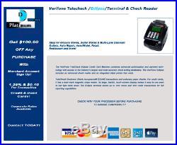 Verifone TELECHECK ECLIPSE Terminal CHECK READER NEW