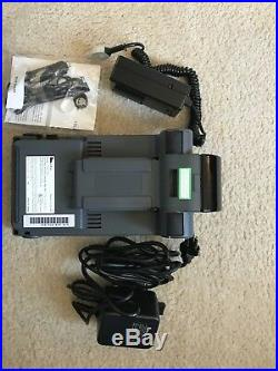 Verifone Tranz 420 Credit Card Terminal +Power supply Interface & car adapter