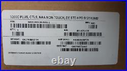 Verifone V200C Plus, CTLS, NAA Non-Touch, DE STD KPD 512/512MB