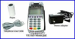 Verifone VX520 Dial Up Terminal- Model M252-103-03-NAA-2