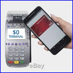 Verifone VX520 Dual Comm Credit Card Machine- With Smart Card Reader NEW