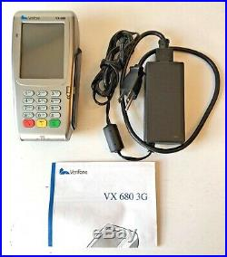 Verifone VX 680 3G (M268-793-C6-USA-3) EXCELLENT CONDITION (Unlocked/Used)