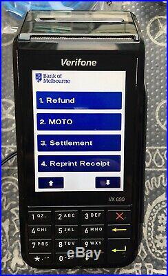 Verifone VX 690 3G, WiFi Chip Card READER Portable Wireless Payment