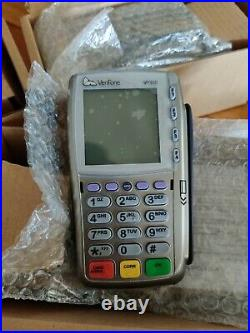 Verifone lot of 3 new in box vx810 keypads and 5 new in box vx810 ctls modules