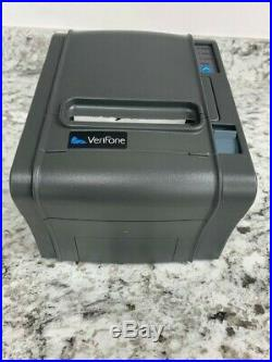Verifone rp-300 receipt printer, gray. Opened box never used