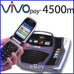ViVOTech ViVOpay 4500M Contactless Credit Card Scanner Verifone Nurit Hypercom