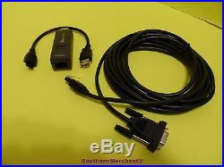 Vx670 Pc Cable 26264-05 Rs232 Dongle 24122-01-r